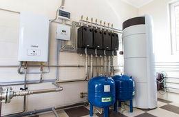 Монтаж системы отопления в коттедже Красногорск
