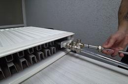 Монтаж радиаторов отопления с нижней подводкой Красногорск