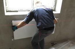 Монтаж стальных радиаторных панелей Красногорск