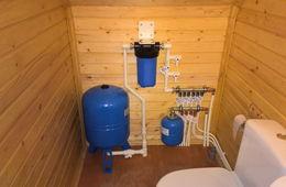 Монтаж водоснабжения в частном доме Красногорск