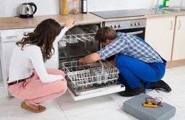 Установка посудомоечной машины в кухню Красногорск