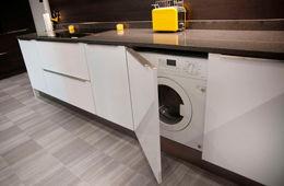 Установка стиральной машины на кухне Красногорск